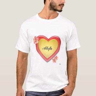 T-shirt Coeur d'Alofa Samoa w/Gold