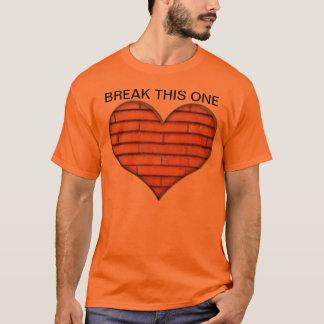 T-shirt Coeur de brique