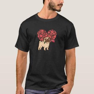 T-shirt Coeur de carlin