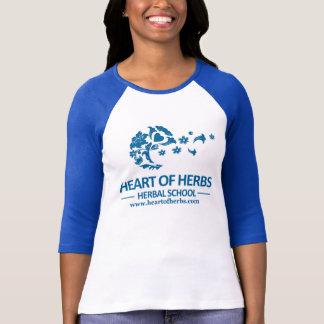 T-shirt Coeur de la sonnerie de fines herbes T d'école