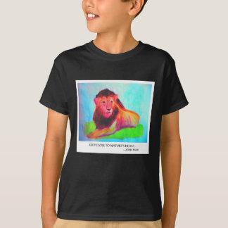 T-shirt Coeur de lion - conservation John Muir d'animal
