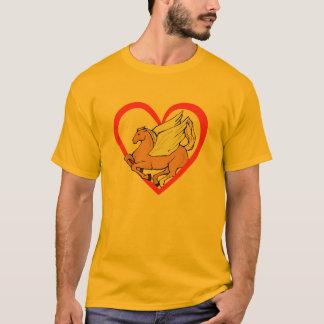 T-shirt Coeur de Pegasus