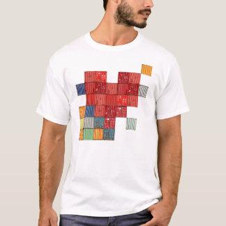 T-shirt Coeur de récipient d'expédition