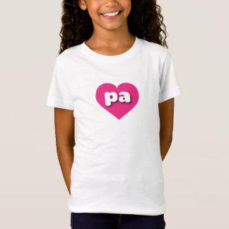 T-Shirt Coeur de roses indien de la Pennsylvanie - mini