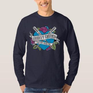 T-shirt Coeur de salon de tatouage du suicide peloton |
