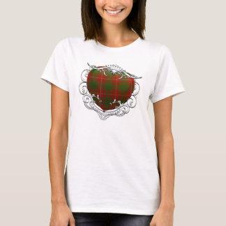 T-shirt Coeur de tartan de Bruce