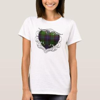 T-shirt Coeur de tartan de Mitchell
