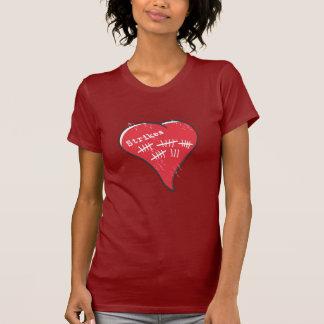 T-shirt Coeur de tenue d'archives