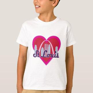 T-shirt Coeur d'horizon de St Louis