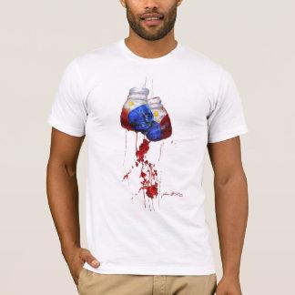 T-shirt Coeur du guerrier philippin