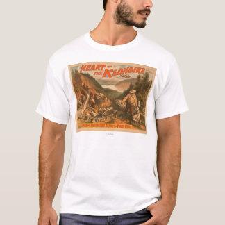 T-shirt Coeur du théâtre 2 d'extraction de l'or de