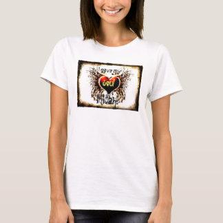 T-shirt Coeur et âme au réservoir de Micah