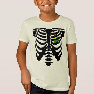 T-Shirt Coeur et nervures de JDM