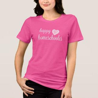T-shirt Coeur heureux de Homeschooler