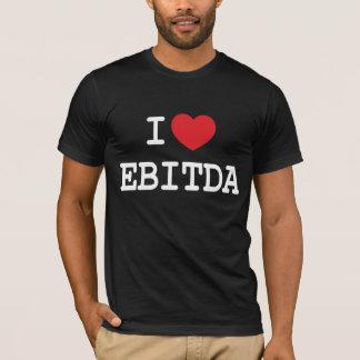 T-shirt Coeur I/loveEBITDA