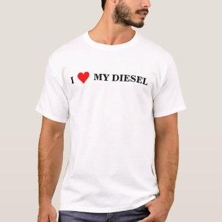 T-shirt Coeur I mon diesel