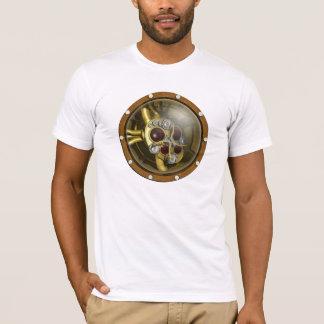 T-shirt Coeur mécanique de Steampunk