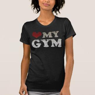 T-shirt Coeur mon gymnase