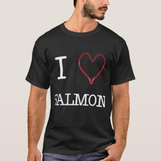 T-shirt [Coeur] OBSCURITÉ saumonée de la chemise I