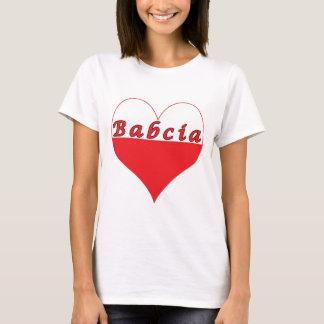 T-shirt Coeur polonais de Babcia