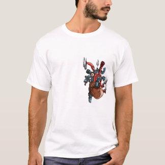 T-shirt Coeur steampunk