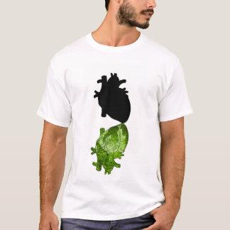 T-shirt Coeur vert de Npress Nero