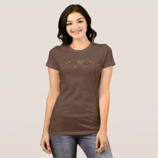 T-shirt Coeurs et feuille
