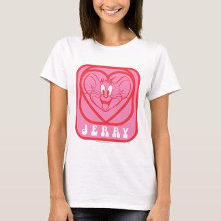 T-shirt Coeurs roses de Jerry