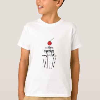 T-shirt coffeecupcakescomfyclothes