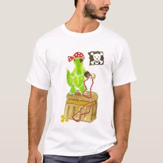 T-shirt Coffre au trésor de pirate d'alligator