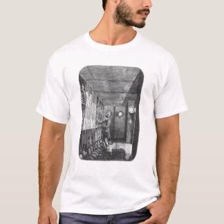 T-shirt Coffres-forts à la banque de la France à Paris,