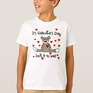 T-shirt Cognez-le à moi jour de Valentines