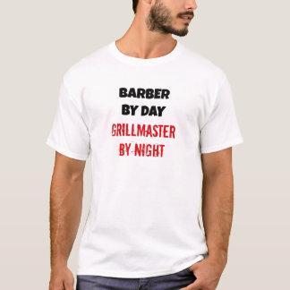 T-shirt Coiffeur par jour Grillmaster par nuit