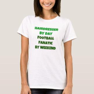 T-shirt Coiffeur par le fanatique du football de jour par