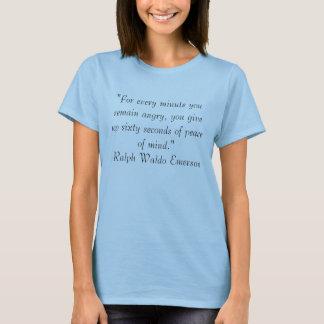 T-shirt Colère