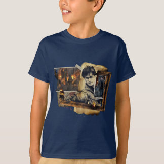 T-shirt Collage 7 de Harry Potter