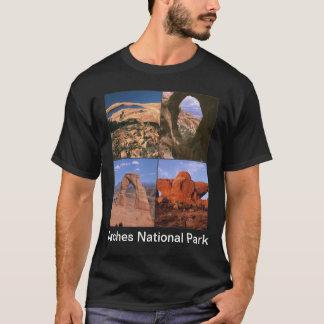 T-shirt Collage de maux de grès de parc national de voûtes