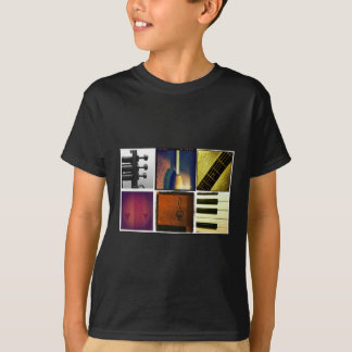 T-shirt Collage de musique