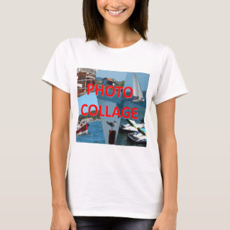 T-shirt Collage de photo