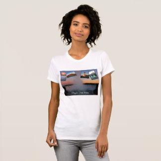 T-shirt Collage de photo de chutes du Niagara