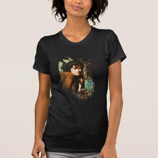 T-shirt Collage de vecteur de médias mélangés de FRODO™