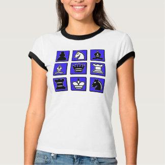 T-shirt Collage d'échecs