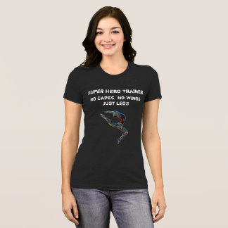 T-shirt Collant de danseur de gymnaste de superhéros de