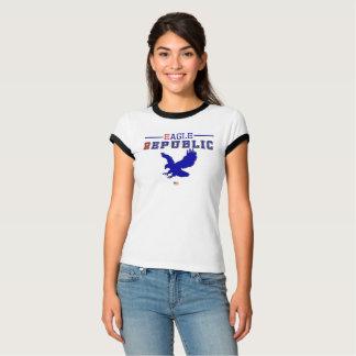 T-shirt Collection de fac de République d'Eagle