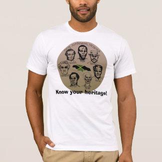 T-shirt Collection de héros de la Jamaïque - sachez votre
