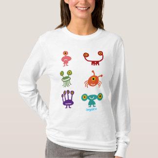 T-shirt Collection de martiens
