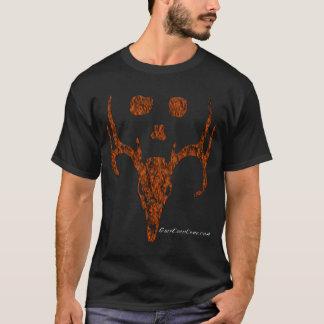 T-shirt Collection de tête de cerfs communs de Camo