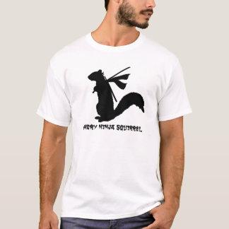 T-shirt Collection fâchée d'écureuil de Ninja