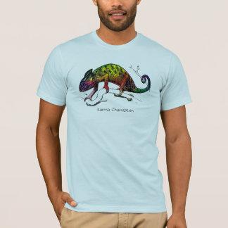 T-shirt Collection tropicale de pièce en t : Caméléon de