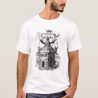 T-shirt Collégium Fama Fraternitatis de frontispice '
